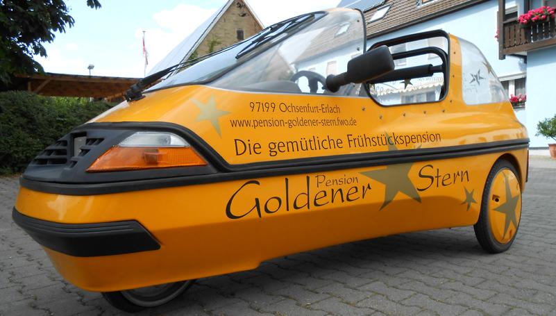 pension-goldener-stern, Hause deko